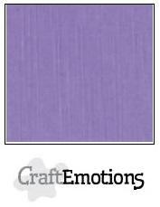 CraftEmotions linnenkarton - lavendel LHC-20 A4 250gr
