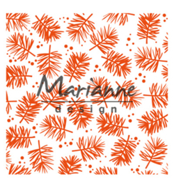 Marianne D Embossing 3D Design Folder  DF3450 - Pine