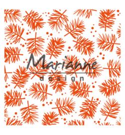 Marianne D Embossing 3D Design Folder  DF3450 - Pine