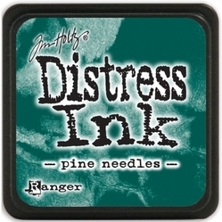 Tim Holtz distress mini ink pine needles