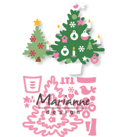 Marianne D Collectable  COL1459 - Eline's Christmas tree