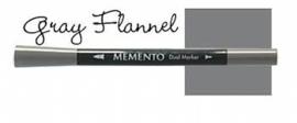 Memento Marker Gray Flannel