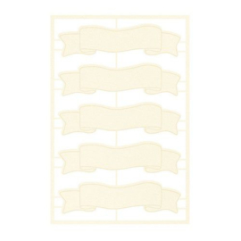 Piatek13 - Chipboard embellishments Forest tea party 06 P13-FOR-54