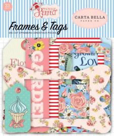 Carta Bella Practically Perfect Frames & Tags Ephemera