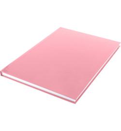 15581 - Dummyboek, blanco hard cover, rood pastel