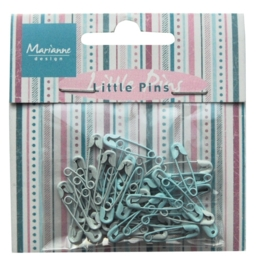 Marianne D Decoration Mini pins - light blue & blue JU0943