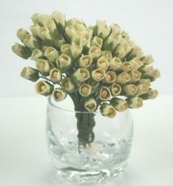 Tiny Rose Buds - Ivory