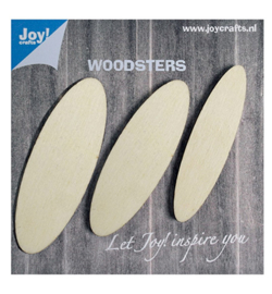 Joy! Crafts - 6320/0002 - Houten Ellipsen