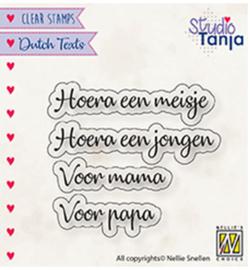 Nellie`s Choice - DTCS028 - Dutch texts, Hoera een meisje..