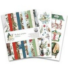 Piatek13 - Paper pad The Four Seasons - Winter, 6x8 P13-WIN-10