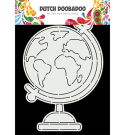 Dutch Doobadoo - 470.784.026 - Card Art A5 Globe