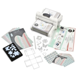 Sizzix Big Shot PLUS Starter Kit White & Grey ft. MLH 661546 (A4)