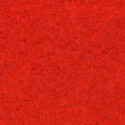 De Witte Engel - Vilt 1,2 mm - Rood 507 (incl. bijpassend garen)