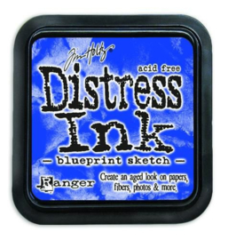 Ranger Distress Inks pad - blueprint sketch TIM43195 Tim Holtz