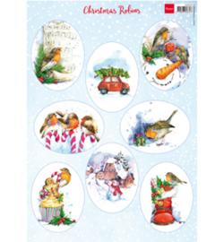 Marianne D Knipvel VK9578 - Christmas Robins