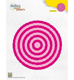 Nellie`s Choice - MFD123 - Photo Frames Circles