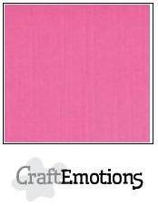 CraftEmotions linnenkarton magenta 27x13,5cm 250gr