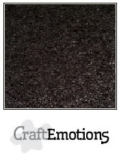 CraftEmotions Kraft Cardstock - Black [1 vel]