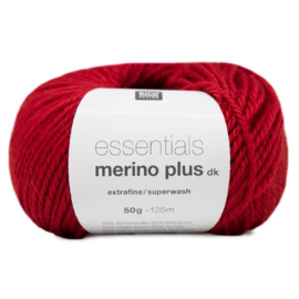 Rico Design - Essentials Merino Plus dk 006 Red