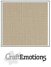 CraftEmotions linnenkarton lever 30,5x30,5cm