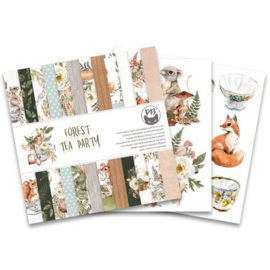 Piatek13 - Paper pad Forest tea party, 6x6'' P13-FOR-09