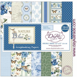 DayKa Trade Nature in Blue 12x12 Inch Paper Pack (SCP-3030