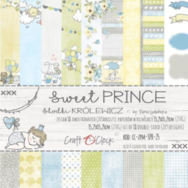 """Paper Collection Set 6""""*6"""" Sweet Prince, 250 gsm"""