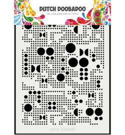 Dutch Doobadoo -  470715133 - Mask Art Mylar Various Dots