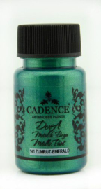 Cadence Dora metallic verf Emerald groen 01 011 0141 0050 50 ml