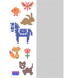 Nellie`s Choice CCPAT012 - CrossCraft Pattern-12 Animals