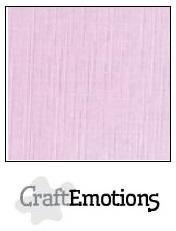 CraftEmotions linnenkarton zacht lila 27x13,5cm 250gr