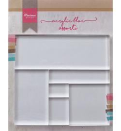 Marianne D LR0013 - Acrylic stamp bloc set