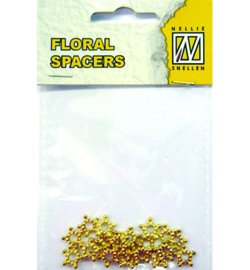 Nellie`s Choice - FLP-SP-010 - Floral Spacers - gold nr. 10