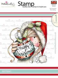 Polkadoodles - Stamp - Winnie Bauble