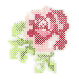 Applicatie Rose 88x81mm