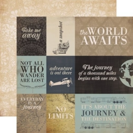 Carta Bella Old World Travel 12x12 Inch Collection Kit (CBOWT53016)