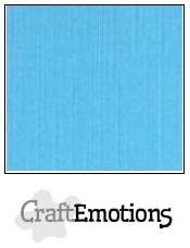 CraftEmotions linnenkarton - aqua LHC-26 A4 250gr