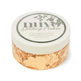 Nuvo gilding flakes (200ml) - sunkissed copper 852N