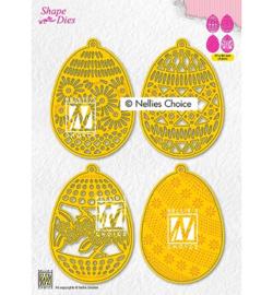 Nellie`s Choice - SD189 - 4 Easter eggs