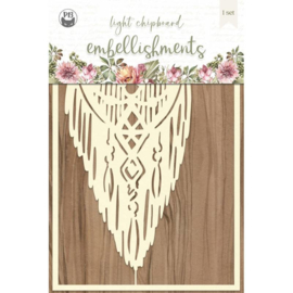 Piatek13 - Chipboard embellishments Always and forever 02 P13-ALW-44