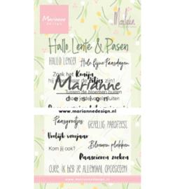 Marianne D Stempel - CS1043 - Marleen's Hallo Lente & Pasen