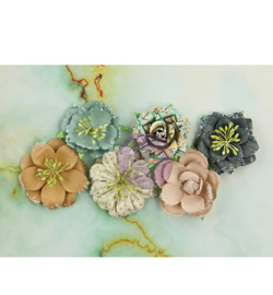 Paper Flowers Sand Dollar - Prima Marketing