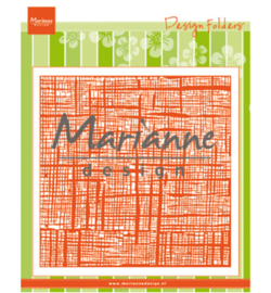 Marianne D Embossing 3D Design Folder DF3453 - Linnen