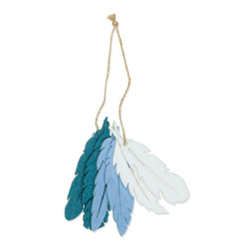63126-100-421 - Feathers, Dusky Blue