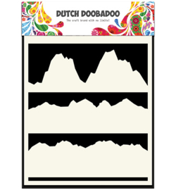 Dutch Doobadoo Mask Art Landscape