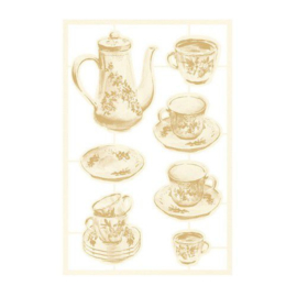 Piatek13 - Chipboard embellishments Forest tea party 02 P13-FOR-44