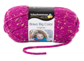 Schachenmayr - Bravo Big 00336 Fuchsia Tweed