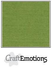 CraftEmotions linnenkarton mosgroen LHC-45 A5 250gr