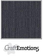 CraftEmotions linnenkarton - antraciet LHC-72 A4 250gr