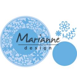 Marianne D Creatables LR0574 - Flower Frame round